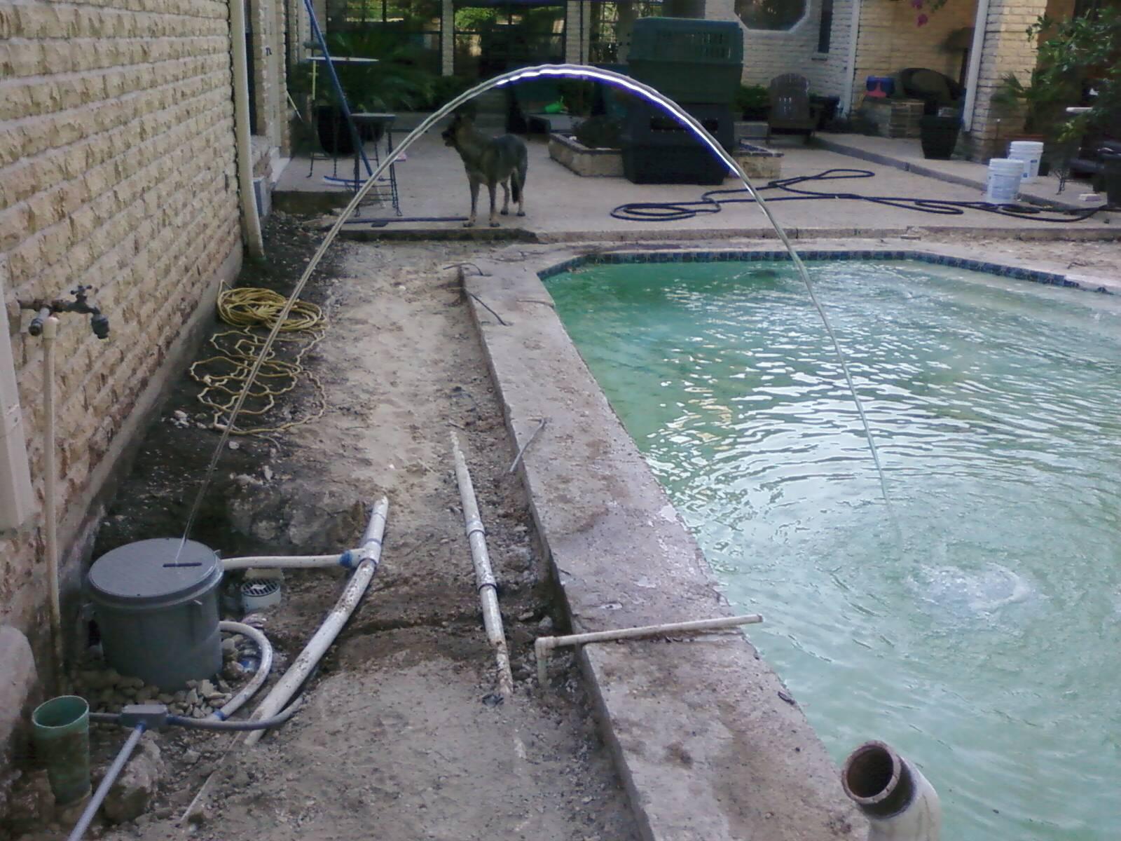 Bluff View Estates Couryard Pool Renovation
