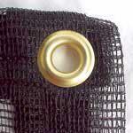 Leaf Netting with brass grommets